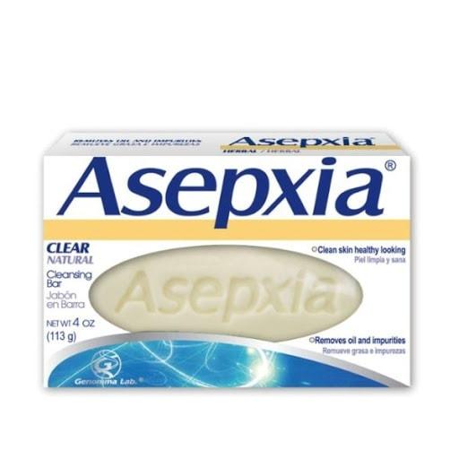 Asepxia Clear Cleansing Bar Soap/ Barra de Jabon 4 oz