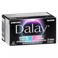 Dalay Nighttime Ayuda a Dormir Tablets 24