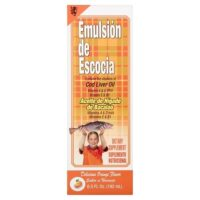 Emulsion De Escocia Naranja 6.5 fl oz